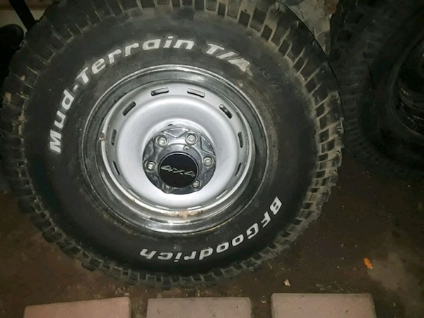 Used 16 Inch Mud Tires And Truck Rims For Sale In Fresno Letgo