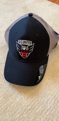 D. C United black hat. Arlington, 22207