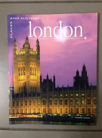 Book: London - Places and History Montréal, H4C
