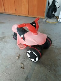 black red and pink little tikes ride on toy West Kelowna, V4T 2P6