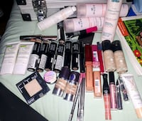 assorted makeup, toner lotion, face cream,  Saskatoon, S7M 2W5