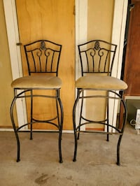 Set of barstools chairs