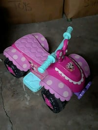 Minnie mouse 6v electric toddler bike