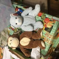 brown monkey and blue bear plush toys Alnwick/Haldimand, K0K 2X0