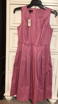 women's pink sleeveless dress 32 km