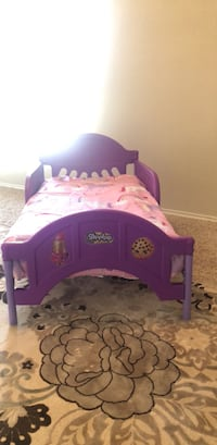 purple and pink plastic bed frame Harker Heights, 76548