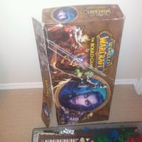 READ FULL AD: 2005 world of warcraft board game AS IS  Edmonton