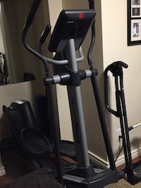 Black and gray elliptical trainer Mississauga, L5A 3B3