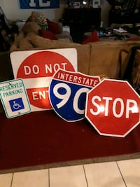 Man cave or garage signs