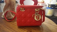 Christian Dior Lambskin Red Purse PRICE IS NEGOTIABLE EDMONTON