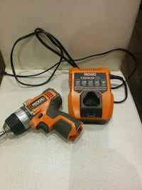 Rigid 12v drill and charger (no batteries) 500 km