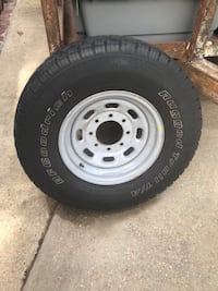 F250 and excursion spare tire and wheel