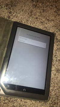 Black nook tablet with black case Heber City, 84032