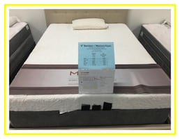 Brand New King Memory Foam Set still in plastic