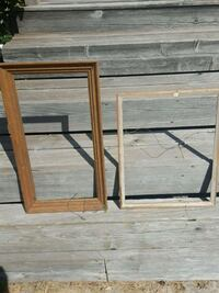 two brown wooden framed mirror or picture frames Ottawa, K2A 3A9