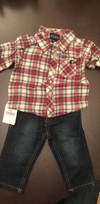 Lucky brand outfit with tags. Size 3-6M 570 mi