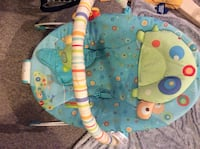 baby's blue and green bouncer London, N6G 3A6