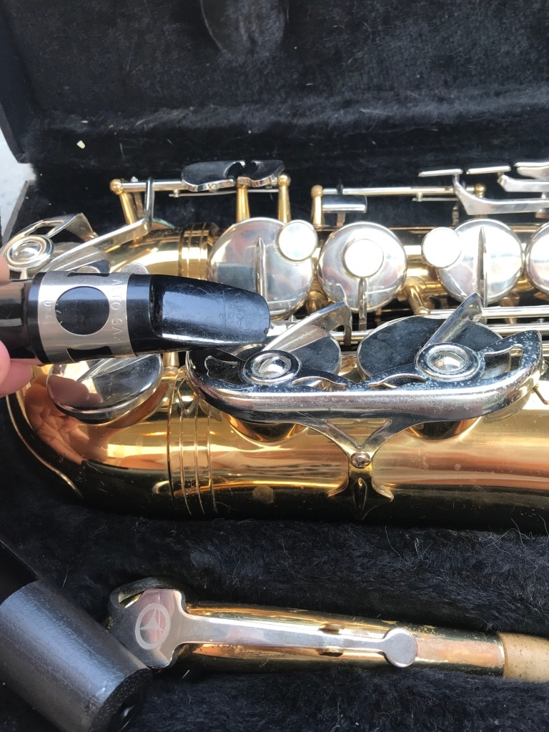 used vito lablanc alto saxophone in case for sale in university park rh us letgo com