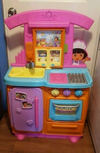 Dora toy kitchen