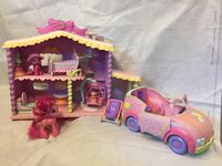 My little pony set ( includes car and ponies) Vaughan, L4L 2T7