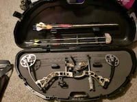 brown and black compound bow set Pinckney, 48169