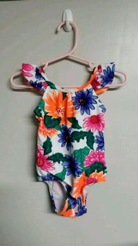 Old navy bathing suit 6m-12m w/ matching sandals  Whittier