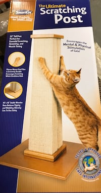 Smart cat: brand new Ultimate Scratching Post Newmarket, L3Y 7T4