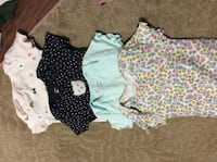 4 body suits 18 m  Rockville