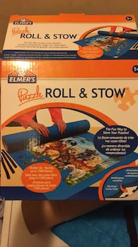Puzzle roll and stow