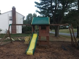 Playground Set. Can be dismantled and taken