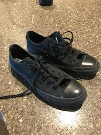 Pair of black low-top converse Abbotsford, V3G 2Y1