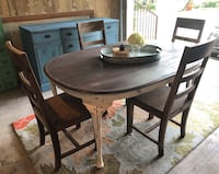 Antique Farmhouse Table and Chairs  Austin, 78726