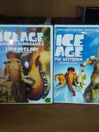 two Ice Age VHS cases Granby, J2H