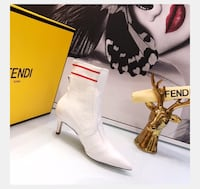 FENDI Leather ankle boots 54 km