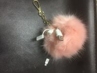 Pink charger puff for purse  Toronto, M1L 1W6