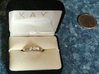 Kay Jeweler's  14k solitaire ring valued at 979.00 Dunmore