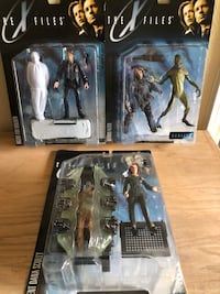 Collectible X-Files Action Figures - Set of 3