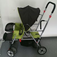 Double stroller with carseat holder for 3rd child  Burke, 22015