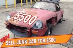 WE BUY ALL KIND OF JUNK CARS