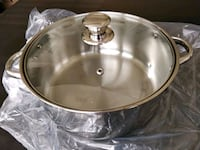 Brand new stainless steel pot new in bag Tysons, 22102