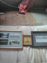 two brown wooden photo frames Oxford