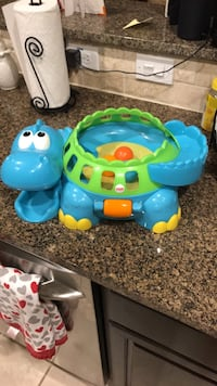 fisher price dino ball bouncer, plays music, can entertain for a long time! Pearland, 77089