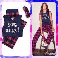 NWT Victoria's Secret The Pillowtalk Tank Pajama 3 Piece Set (Small) Swansea