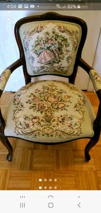 French provincial tapestry chair  Vaughan, L4H 2H2