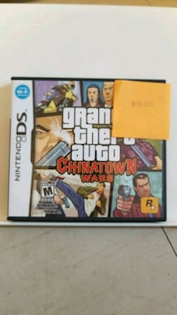 Nintendo DS Grand Theft Auto Five game case Hamilton, L9C 5Z4