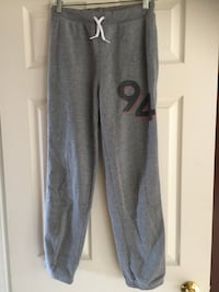 Old Navy Youth XL Grey Track Pants size 14-16 610 km