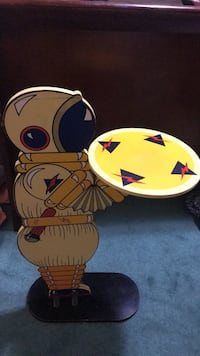 Vintage Space Man Side Table. New York, 11236