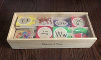 Melissa and Doug Wooden Self Correcting Letter/Alphabet Puzzles Vaughan, L6A 0C3