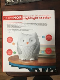 Skip Hop Nightlight Soother for Baby Springfield, 22150