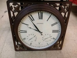 Large Metal Frame Clock
